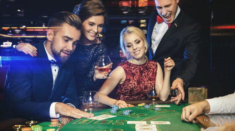 smilende casinospillere