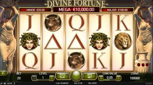 Divine Fortune spilleautomat