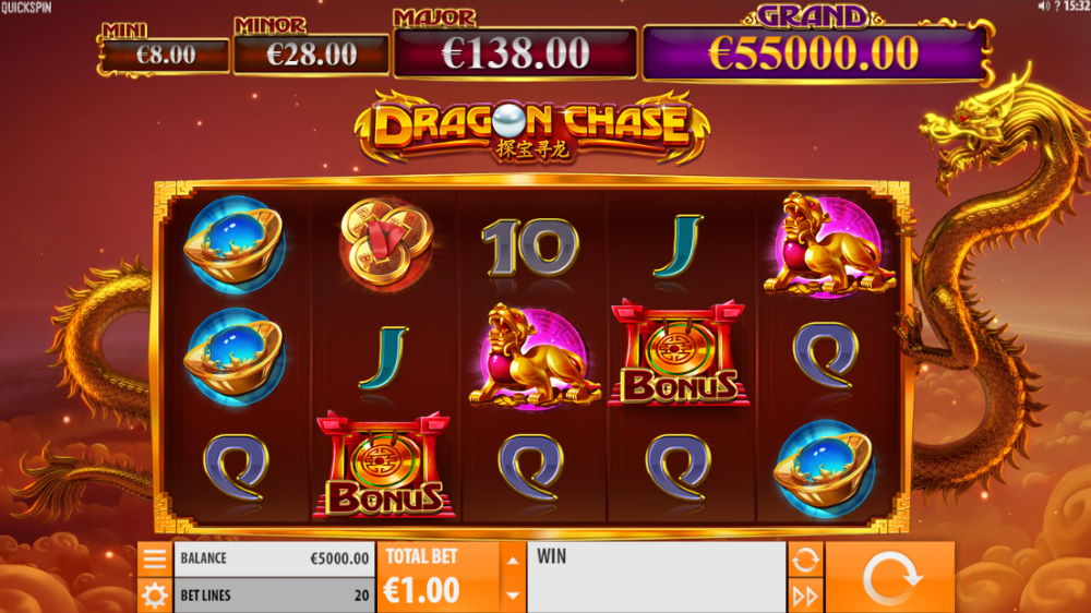 Dragon Chase Spilleautomat