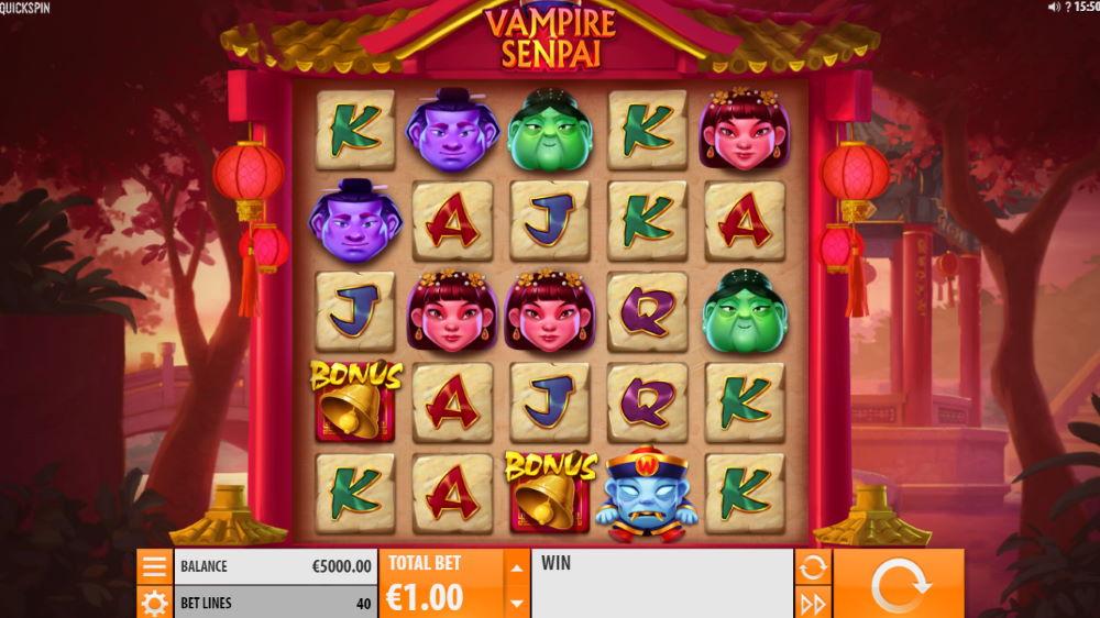 Vampire Senail Spilleautomat